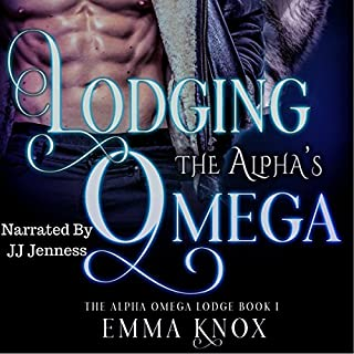 Lodging the Alpha's Omega     Alpha Omega Lodge, Book 1              By:                                                                                                                                 Emma Knox                               Narrated by:                                                                                                                                 JJ Jenness                      Length: 3 hrs and 23 mins     31 ratings     Overall 3.4