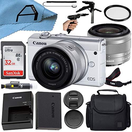 Canon EOS M200 Compact Mirrorless Digital Vlogging...