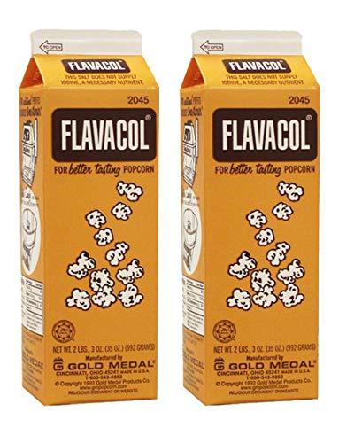 Concession Essentials Flavacol Popcorn Season Salt - Pack of 2 Cartons