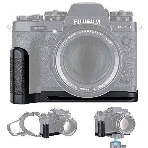 JJC Grip Metallo Impugnatura per Fujifilm Fuji X-T3 X-T2 sostituisce Fujifilm MHG-XT3 MHG-XT2 Hand Grip