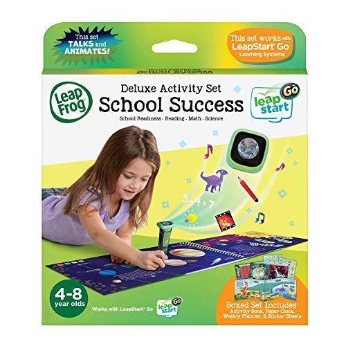 LeapFrog LeapStart Go Deluxe Activity Set - School Success Activity Book