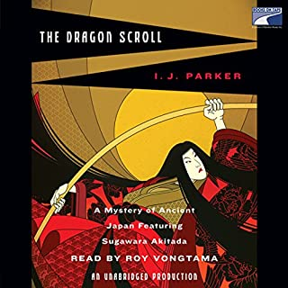The Dragon Scroll audiobook cover art