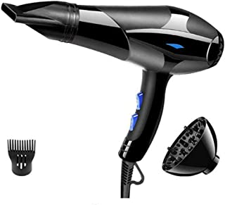 Profesional iónico Secador de pelo, 220V 2200W Secador de pelo eléctrico, secador del soplo de infrarrojos iónico el uso del salón para el baño de la sala