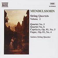 Mendelssohn: String Quartets, Vol. 1 (2006-08-01)
