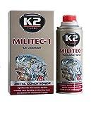 Additif pour huile de moteur K2 MILITEC - Réduit les frottements - 250ml