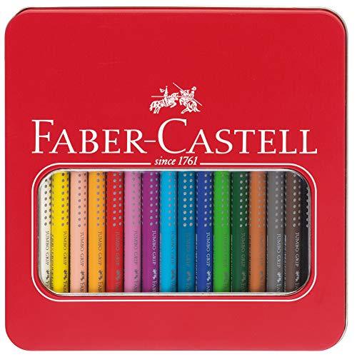 ジャンボグリップ水彩色鉛筆 16色入りギフトボックス 110916