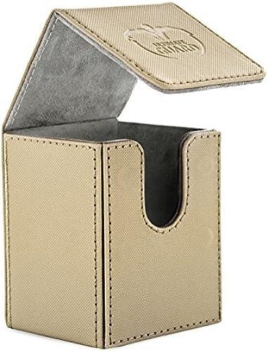 100 Card Flip Xenoskin Deck Case, Sand by Ultimate Guard