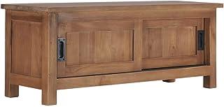 Tidyard Mesa para TV Diseño Moderno Aparador para TV Mueble TV Salón Mesa Televisión Mueble Comedor Televisor de Madera de...
