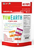 YumEarth Organic Lollipops, Assorted Flavors, 12.3 Ounce (Pack of 1), 50 Lollipos per Pack