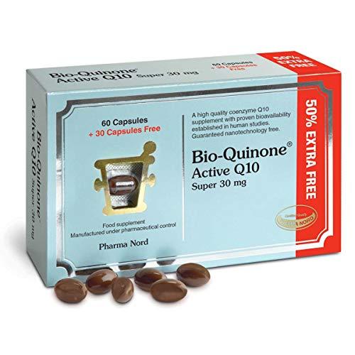 Pharma Nord Bio-Quinone Active Super 30mg 60+30 Capsules Extra Free