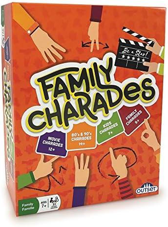 Amazon Com Outset Media Family Charades Amazon Exclusive Orange Toys Games