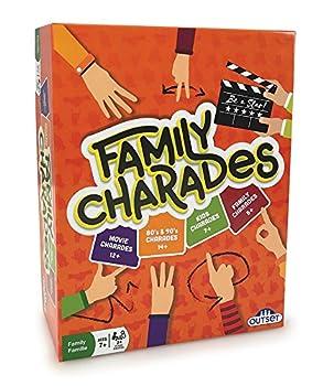 Outset Media Family Charades [Amazon Exclusive] Orange