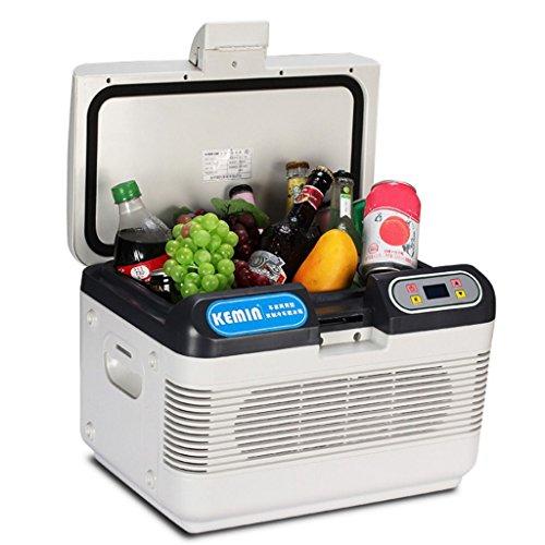 AMYMGLL Réfrigérateur 12L Double-Réfrigérateur de Voiture/Isolation, Maison et Voiture à Double Usage (220V/12V), Stockage et Conservation, Pique-Nique de Voiture/Tour de Grand Camion