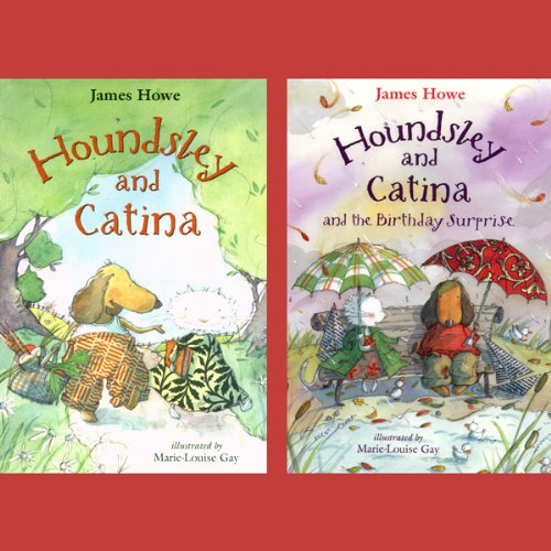 Houndsley & Catina / Houndsley & Catina & The Birthday Surprise  audiobook cover art