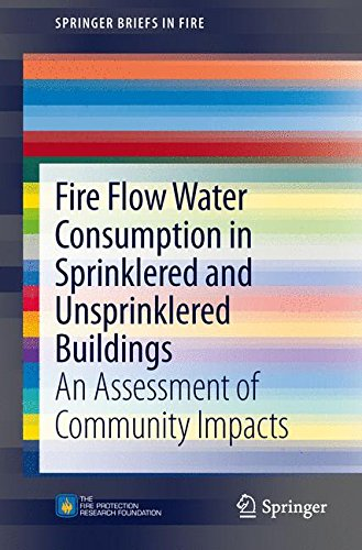Fire Flow Water Consumption in Sprinklered and Unsprinklered Buildings: An Assessment of Community Impacts (SpringerBriefs in Fire)