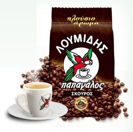 Loumidis Dunkel, Traditionell, Griechischer Kaffee 200g (pack of 2)