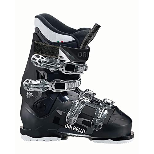 Dalbello DS MX 65 Womens Ski Boots 2021-25.5/Black Trans-Black