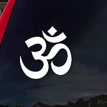 SoCoolDesign OM Symbol Hindu Car Window Vinyl Decal Sticker 4