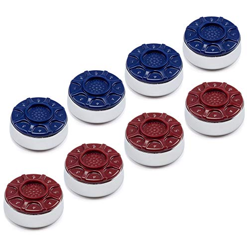 Best Prices! GSE Games & Sports Expert 2-1/8(53mm) or 2-5/16(58mm) Premium Shuffleboard Pucks - Se...