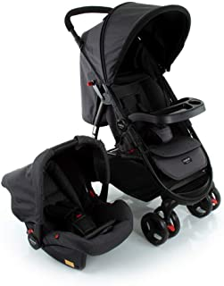 Travel System Nexus Cosco - Preto (Mescla)