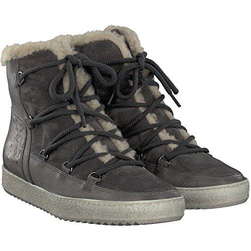 Paul Green Damen Sneaker Jacks gefüttert 4434-018 Grau grau 180935