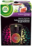 Air Wick Farbwechsel Duftkerze Black Edition Brombeere und Wildfeige, 3er Pack (3 x 155 g) -