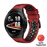 HUAWEI WATCH GT 2e Smartwatch, 1.39 Inch AMOLED HD Touchscreen, 2-Week Battery Life, GPS and GLONASS, Auto-detects 6 Sport Modes, 15 Sport Activities Tracking, SpO2, Heartrate Monitoring, Lava Red