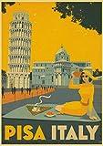 Póster Artístico Impreso En HD, Pintura En Lienzo, Nueva York, Londres, Italia, Póster Artístico De Pared, Imágenes para Sala De Estar, Decoración del Hogar, 40X50Cm Sg-3487