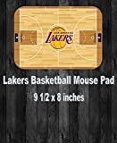 LA Lakers Basketball Team Mouse Pad Home Or Office