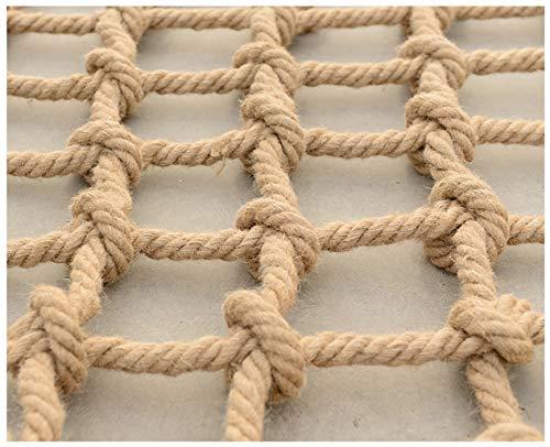 WWWANG Anti-Fall net, Kindersicherheitsnetz Outdoor-Training net Fotowand Zaun Netz hängende Kleidung Nettowarennetz, Deckendekoration Zubehör Netto-Multi-Größe 5mm Seil dick (1m * 4m) Klettern