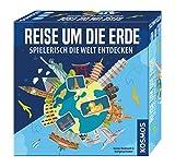 Kosmos 692773 - Reise um die Erde, Spielerisch die Welt entdecken, Geografie-Spiel, ab 8 Jahre