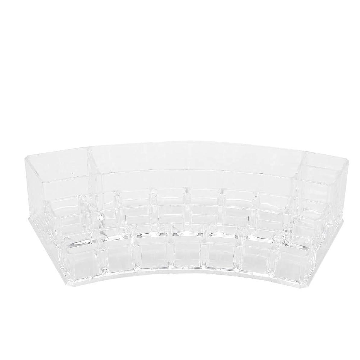 製品によると所有権19グリッドプラスチック収納ボックス - ディスプレイケースネイルアートタトゥーツールオーガナイザー化粧品ディスプレイ
