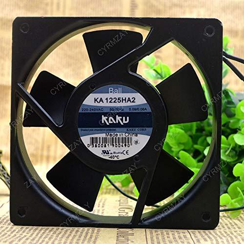 CYRMZAY Ventilador Compatible para Kaku KA1225HA2 12cm 12025 220V Metal Frame High Temperature Waterproof Ventilador IP55