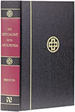 The Septuagint with Apocrypha: Greek and English