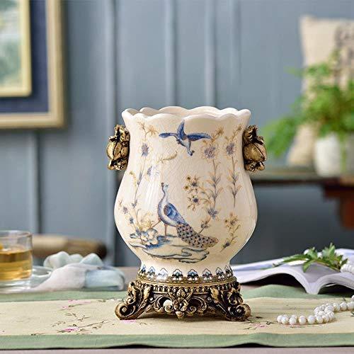 TELMU Creative Geometric Vase Foreign Retro Wohnaccessoires Einstellungen 1