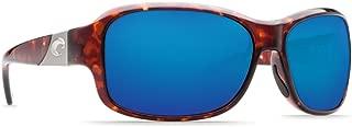 Sunglasses Costa Del Mar INLET IT 10 OBMGLP TORTOISE BLUE MIR 580Glass
