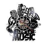 GVC 1Piece Seiko Christmas LED Reloj de Pared Imagen Completa para Cool Wall Clock Music 95 Seiko Musical Reloj de Pared Reparación Zoom Seiko Mini