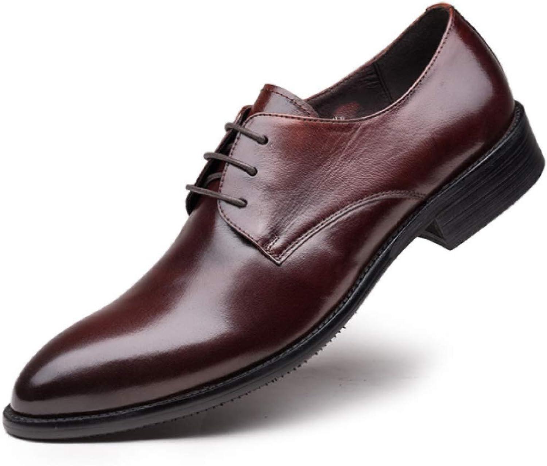 XDLJL Klassische England Kleid Herren Schuhe Gewachstes Leder Glossy Europäischen Stil Schnür-Leder-Schuhe B07GD9PVZQ    Professionelles Design