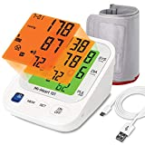 Mievida Mi Heart 101 Blood Pressure Monitor with Smart 3 Colored Backlight Display of 4.3 Inches,...
