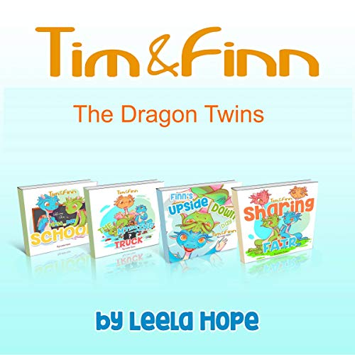 Tim and Finn the Dragon Twins Series  By  cover art
