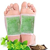 Foot Pads,Cleansing Foot Pads for Foot Care, Sleep Better,Foot Care Product,Green Tea Foot Patches (Green Tea Foot Pads 40pcs)