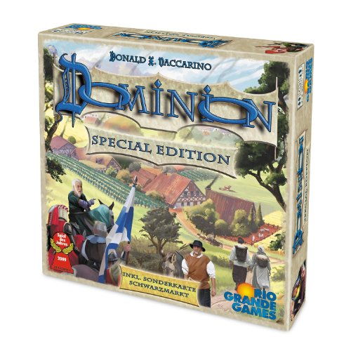 Rio Grande Games 22501401 - Dominion, Strategiespiel