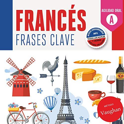 Diseño de la portada del título Francés frases clave