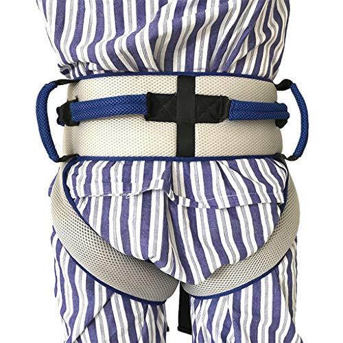 EGCLJ Gehhilfe Transfer Belt Mit Beinschlaufen, Medizinische Pflege Sicherheit Gait Assist Pflege Gürtel Sicherheit Pflege Gürtel for Epilepsie Parkinson-Elderly