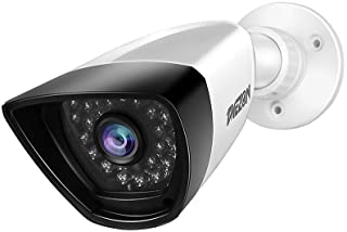 TMEZON 1x 800TVL Outdoor Indoor Home Surveillance Security Camera IR 100ft Day Night Vision,3.6mm Wide Angle Lens,30 IR-LE...