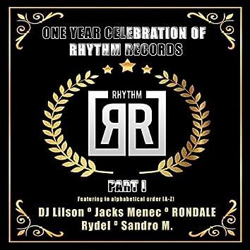 One Year Celebration Of Rhythm Records P1