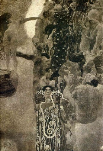 Art Oyster Gustav Klimt Medicine Final State - 18