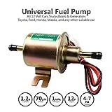 Pompe à carburant électrique universelle 12 V (4-7 psi) 380 bobines en cuivre courant 1,0-2,0 A