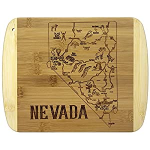 Totally Bamboo A Slice of Life Nevada Bamboo Serving and Cutting Board by Totally Bamboo