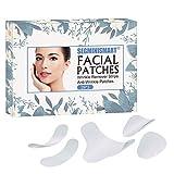 Cerotti per il viso, strisce antirughe, cerotti antirughe, cerotti per fronte, rughe, per il trattamento delle rughe, per lisciare le rughe.